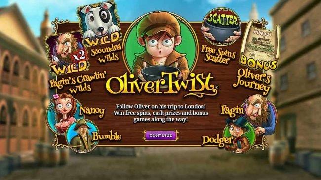 Oliver Twist Slot si Endemol
